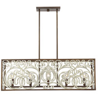 Savoy House 1-1912-5-152 Erhardt 5 Light 36 inch Monaco Linear Chandelier Ceiling Light