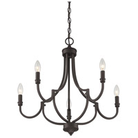 Savoy House 1-2005-5-13 Auburn 5 Light 24 inch English Bronze Chandelier Ceiling Light alternative photo thumbnail