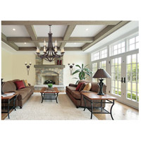 Savoy House 1-2013-12-05 Elba 12 Light 38 inch Oiled Copper Chandelier Ceiling Light alternative photo thumbnail