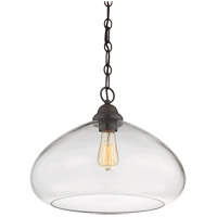 Savoy House 1-2070-1-13 Shane 1 Light 16 inch English Bronze Pendant Ceiling Light