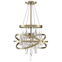 Savoy House 1-2120-3-127 Mannheim 3 Light 16 inch Noble Brass Chandelier Ceiling Light