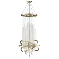 Savoy House 1-2122-9-127 Mannheim 9 Light 21 inch Noble Brass Chandelier Ceiling Light
