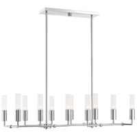 Savoy House 1-2171-12-11 Deacon 12 Light 12 inch Polished Chrome Chandelier Ceiling Light