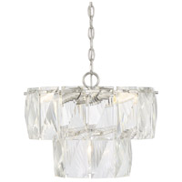 Savoy House 1-2174-4-109 Turner 4 Light 16 inch Polished Nickel Chandelier Ceiling Light