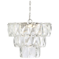 Savoy House 1-2175-7-109 Turner 7 Light 20 inch Polished Nickel Chandelier Ceiling Light