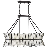 Savoy House 1-2192-5-13 Chapelle 5 Light 36 inch English Bronze Linear Chandelier Ceiling Light