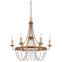 Savoy House Abilene 7 Light Chandelier in Vintage Brass 1-2310-7-155
