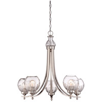 Savoy House Camden 5 Light Chandelier in Polished Nickel 1-240-5-109