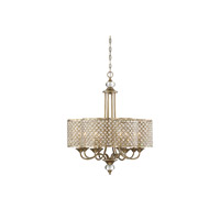 Regis 8 Light 28 inch Pyrite Chandelier Ceiling Light