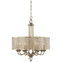 Savoy House 1-2401-8-98 Regis 8 Light 28 inch Pyrite Chandelier Ceiling Light