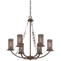 Savoy House Nouvel 6 Light Chandelier in Galaxy Bronze 1-2500-6-42