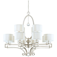 Savoy House 1-251-12-307 Rosendal 12 Light 40 inch Silver Sparkle Chandelier Ceiling Light photo thumbnail