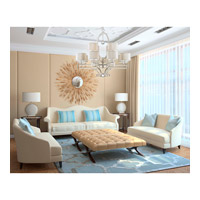 Savoy House 1-251-12-307 Rosendal 12 Light 40 inch Silver Sparkle Chandelier Ceiling Light alternative photo thumbnail