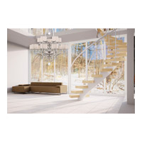 Savoy House 1-254-15-307 Rosendal 15 Light 52 inch Silver Sparkle Chandelier Ceiling Light alternative photo thumbnail