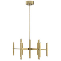 Savoy House 1-2600-18-322 Barnum LED 26 inch Warm Brass Chandelier Ceiling Light