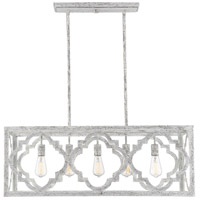 Westbrook 5 Light 39 inch Charisma Linear Chandelier Ceiling Light