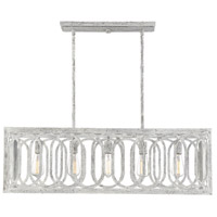 Westbrook 5 Light 38 inch Charisma Linear Chandelier Ceiling Light