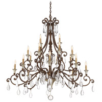 Savoy House 1-3005-20-8 St. Laurence 20 Light 52 inch New Tortoise Shell with Silver Chandelier Ceiling Light alternative photo thumbnail