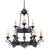 Savoy House Barista 9 Light Chandelier in Slate 1-3021-9-25