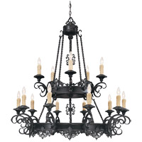 Savoy House Barista 15 Light Chandelier in Slate 1-3023-15-25