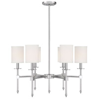 Savoy House 1-305-6-109 Chatham 6 Light 28 inch Polished Nickel Chandelier Ceiling Light