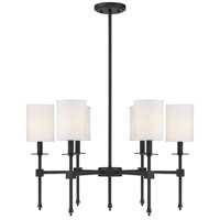 Savoy House 1-305-6-44 Chatham 6 Light 28 inch Classic Bronze Chandelier Ceiling Light