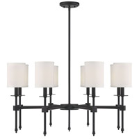 Savoy House 1-306-8-44 Chatham 8 Light 32 inch Classic Bronze Chandelier Ceiling Light
