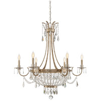 Savoy House 1-3060-6-60 Claiborne 6 Light 33 inch Avalite Chandelier Ceiling Light
