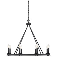 Savoy House 1-308-8-44 Middleton 8 Light 33 inch Classic Bronze Chandelier Ceiling Light
