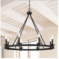 Savoy House 1-308-8-89 Middleton 8 Light 33 inch Matte Black Chandelier Ceiling Light alternative photo thumbnail
