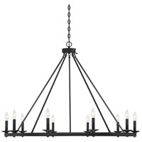 Savoy House 1-310-10-44 Middleton 10 Light 45 inch Classic Bronze Chandelier Ceiling Light