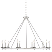 Middleton 10 Light 45 inch Satin Nickel Chandelier Ceiling Light
