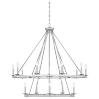 Middleton 15 Light 45 inch Polished Nickel Chandelier Ceiling Light