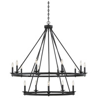Savoy House 1-312-15-44 Middleton 15 Light 45 inch Classic Bronze Chandelier Ceiling Light