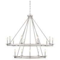 Savoy House 1-312-15-SN Middleton 15 Light 45 inch Satin Nickel Chandelier Ceiling Light