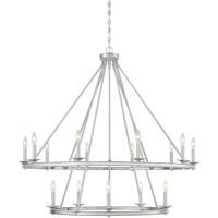 Savoy House 1-312-15-SN Middleton 15 Light 45 inch Satin Nickel Chandelier Ceiling Light