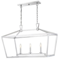 Savoy House 1-323-3-109 Townsend 3 Light 32 inch Polished Nickel Trestle Ceiling Light alternative photo thumbnail