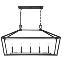 Savoy House 1-324-5-44 Townsend 5 Light 44 inch Classic Bronze Linear Chandelier Ceiling Light