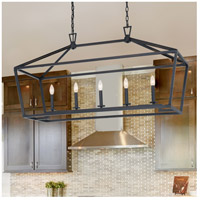 Savoy House 1-324-5-44 Townsend 5 Light 44 inch Classic Bronze Linear Chandelier Ceiling Light alternative photo thumbnail