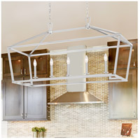 Savoy House 1-324-5-SN Townsend 5 Light 44 inch Satin Nickel Linear Chandelier Ceiling Light alternative photo thumbnail