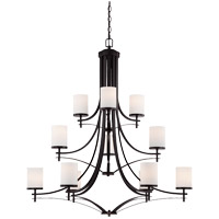 Savoy House 1-332-12-13 Colton 12 Light 40 inch English Bronze Chandelier Ceiling Light