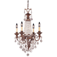 Savoy House Signature 4 Light Chandelier in New Tortoise Shell 1-3400-4-56 photo thumbnail