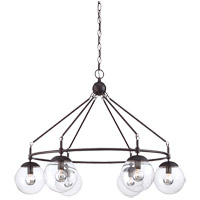 Savoy House 1-351-6-13 Argo 6 Light 32 inch English Bronze Chandelier Ceiling Light