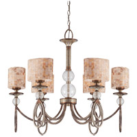 Savoy House Acacia 6 Light Chandelier in Oxidized Silver 1-3531-6-128
