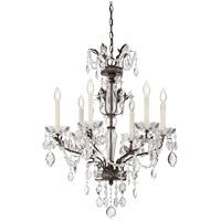 Savoy House Sheraton 6 Light Chandelier in New Tortoise Shell 1-370-6-56