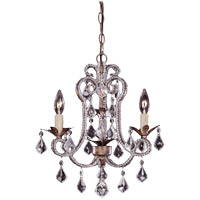 Savoy House Signature 3 Light Chandelier in Burnished Gold 1-37000-3-22