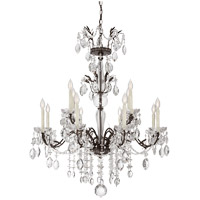 Savoy House Sheraton 12 Light Chandelier in New Tortoise Shell 1-371-12-56