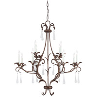 Savoy House Roschella 12 Light Chandelier in Guilded Bronze 1-3801-12-131 photo thumbnail