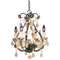 Savoy House Signature 4 Light Chandelier in Antique Copper 1-4006-4-16