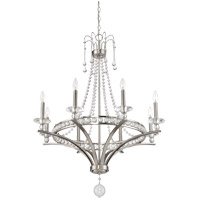 Savoy House 1-401-8-SN Alana 8 Light 32 inch Satin Nickel Chandelier Ceiling Light alternative photo thumbnail